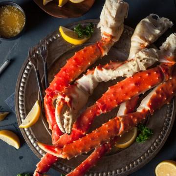 Patte de crabe royal...