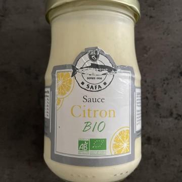 Sauce citron Bio